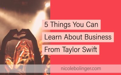 Five Things You Can Learn About Business From Taylor Swift