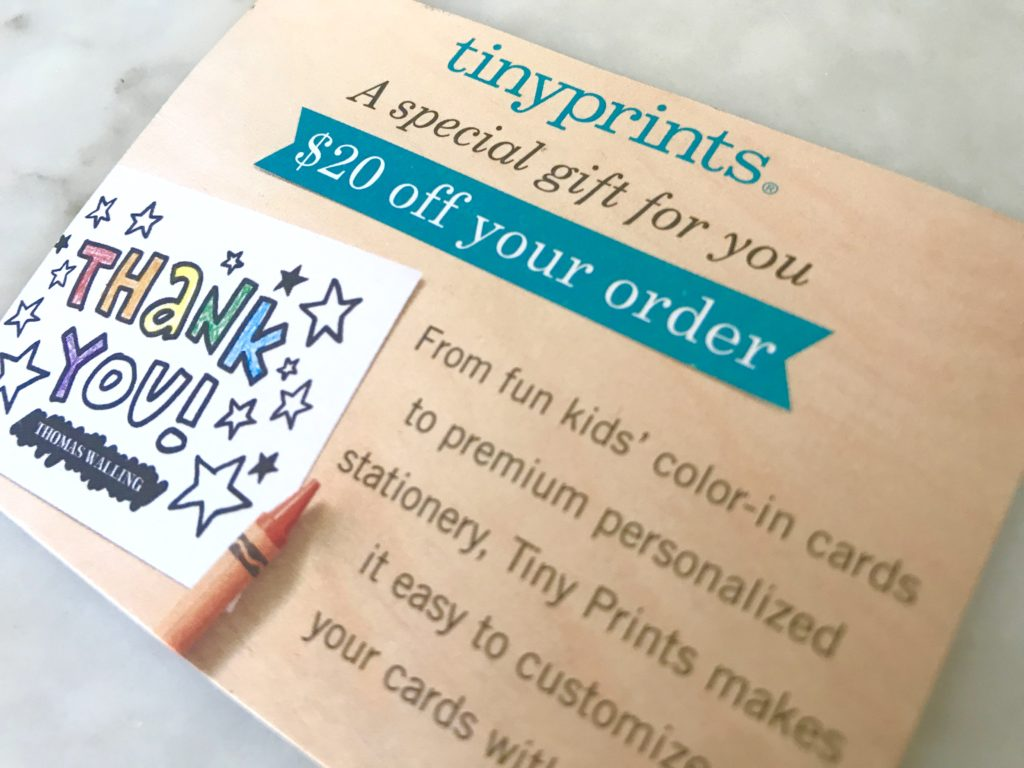 cross-promotion with Tinyprints